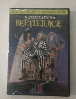 Beetlejuice  (DVD, 2008, Widescreen, 20th Anniversary Edition) New Free Ship