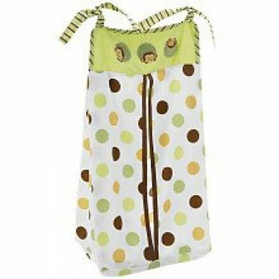KidsLine Unisex Modpod Pop Monkey Embroidered Diaper Stacker  NEW IN PACKAGE!