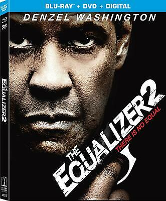 The Equalizer 2 (Blu-ray 2018) Free Shipping