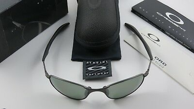 260f47e326 Oakley A Wire 1.0 Carbon Black Iridium Polarized Long Earsocks 05-578 Gen 1  NEW