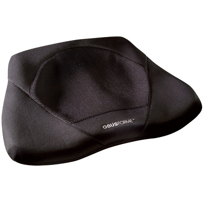 ObusForme Gel Seat Cushion, Contoured Memory Foam Base For Comfort and Support,