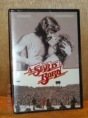 A Star Is Born (DVD, 1976) NE Barbara Streisand Kris Kristofferson romance drama
