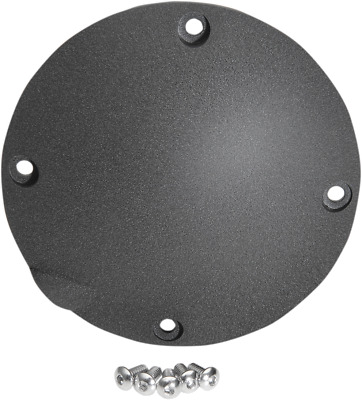 Drag Specialties 1107-0366 Derby Covers Wrinkle Black
