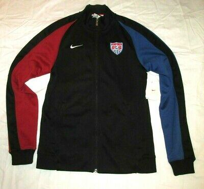 039d671ab63f NIKE USA SOCCER National Team N98 Womens Track Jacket M Black ...