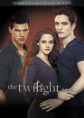 The Twilight Saga: Complete 5-Movie Collection [DVD] 2 Pack New, Free Shipping