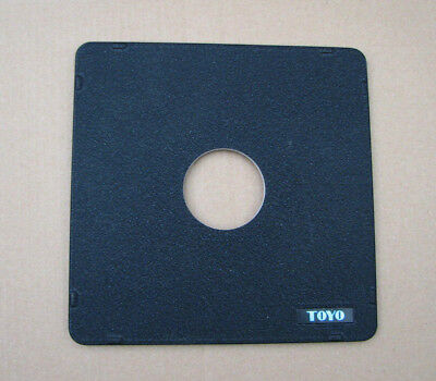 Toyo monorail 5x4 10x8  lensboard panel for copal compur 1 41.7mm