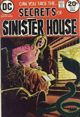 Secrets of Sinister House #14 in Fine + condition. DC comics [*em]