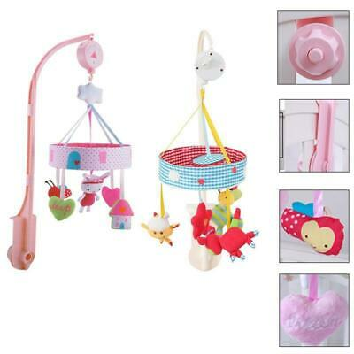 Baby Crib Mobile Bed Bell Holder Toy Long Arm Bracket Wind-up Music Box Hanging