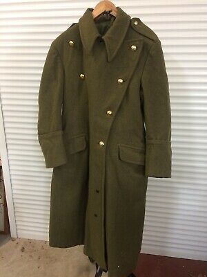 Vietnam War Australia Army Heavy Trench Coat Great Coat Infantry Buttons