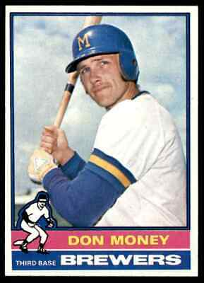1976 Topps Don Money #402 Nm-Mt Well Centered Vending Set Break Blr12V1