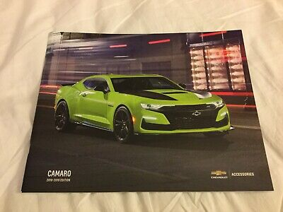 2018-2019 CHEVY CAMARO ACCESSORIES 40-page Original Sales Brochure