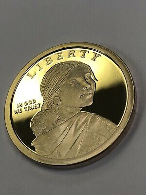 PROOF DEEP CAMEO 2019-S Sacagawea Native American U.S Dollar-one Coin Lim. Quan