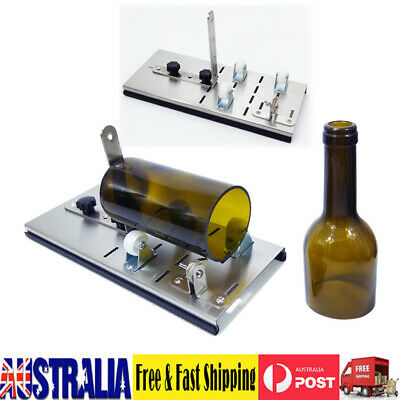 Professional Glass Bottle Cutter Kit Jar Cutting Machine DIY Recycle Tool Set AU