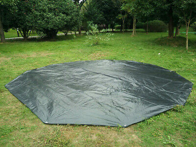 Canada Shipped Waterproof Black 4M/5M PE Mat for Bell Tent Or Canvas Bell Tent