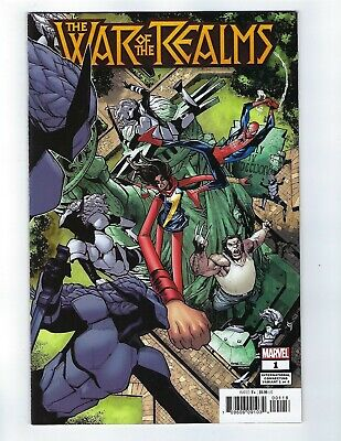 War Of The Realms # 1 Connecting Variant Cover NM Marvel