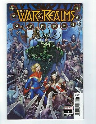 War Of The Realms # 1 Frank Cho Variant Cover NM Marvel
