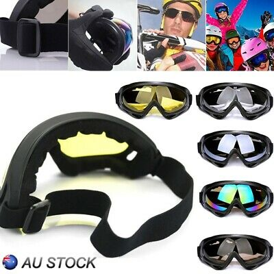 Men Womens Unisex Ski Snowboard Goggles Anti Fog UV Sports Cycling Sunglasses AU