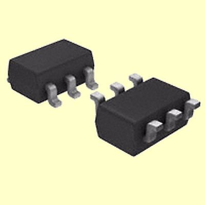 10 pcs. FDC604P  Fairchild  MOSFET P-Channel  20V 5,5A  SOT23-6  NEW  #BP