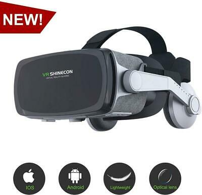 [ 2019 New Version ] Virtual Reality Headset, VR SHINECON VR Goggles VR Headsets