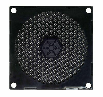 Australia SilverStone 80mm Fan Filter with Grill FF81B (Black)