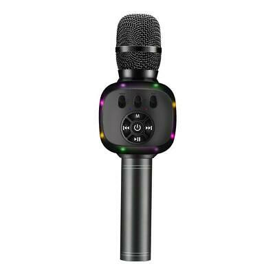 BONAOK Upgraded Wireless Bluetooth Karaoke Microphone with Dual Sing, LED Lights
