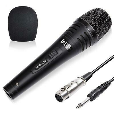 TONOR Dynamic Karaoke Microphone for Singing with 4.5m XLR Cable, Metal Handheld