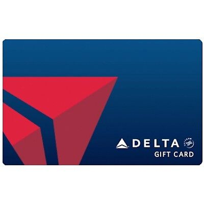 DELTA AIRLINES $50 GIFT CARD (E-card)