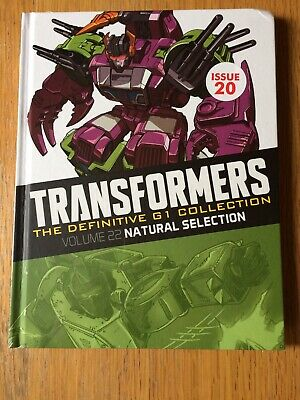 Transformers The Definitive G1Collection-Volume 22-Natural Selection-New(Other)