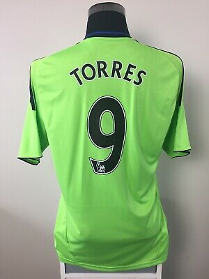 TORRES #9 Chelsea Third Football Shirt Jersey 2010/11 (L)