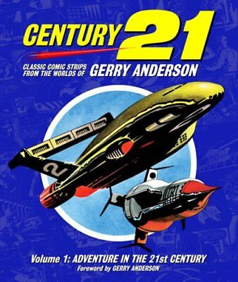 Century 21 Classic Comic Strips Gerry Anderson Volume 1 NEW Thunderbirds Stingay
