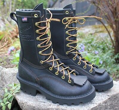 Danner Womans FLASHPOINT II NFPA Logger Wildland Fire Fighter Boots Size 5  W USA 2f336ea5ad