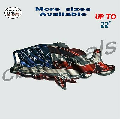 Large striped bass decal very