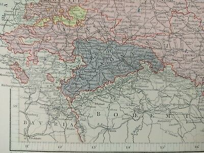 Antique Map Of Dresden 1833 Sduk Engraved By W Henshall Hand
