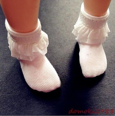 White / Black lace stocking Socks For 1/6 1/4 1/3 BJD Doll yosd msd dd