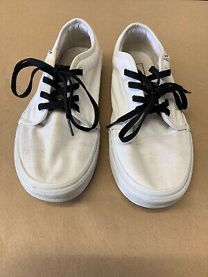 4d79758ca4 Vans 106 VULCANIZED True White Casual Skate Sneaker Shoes 8 Men s 9.5  Women s
