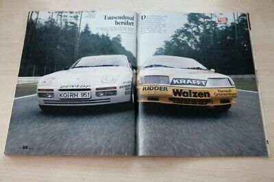 Auto Motor Sport / AMS 15554) Renault Alpine V6 Turbo Kat Cup mit 250PS besser a