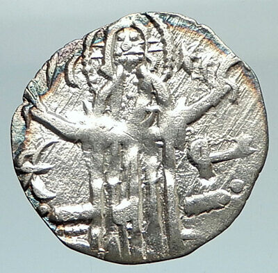 IVAN ALEXANDER MICHAEL ASEN IV 1331AD Rare Silver Coin JESUS CHRIST  i76195