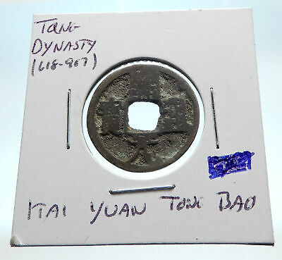 618-907AD CHINESE TANG Dynasty OLD Genuine Antique Cash Coin of CHINA i76250