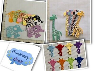 Animal Themed Die Cuts - Scrapbooking, Card, Topper, Embellishments