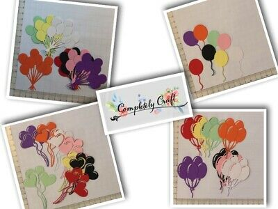 Balloon Die Cuts - Scrapbooking, Card, Topper, Embellishments