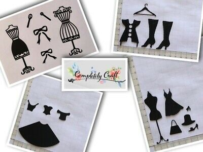 Dress form Die Cuts - scrapbooking, embellish, birthday, card, toppers