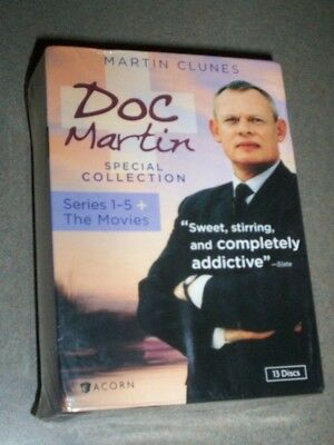 Doc Martin Special Collection: Series 1-5 plus the Movies Box set, Color, Multip