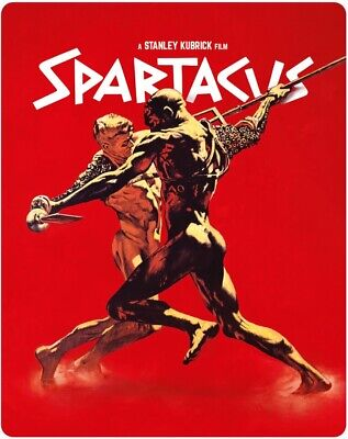 Spartacus Steelbook Blu-ray Rare! New With Free Delivery!