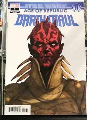 Star Wars Age of Republic Darth Maul #1 Concept Variant -2018 UR 1st Print