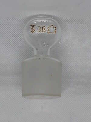 Hollow Glass Pennyhead Size 38 Stopper