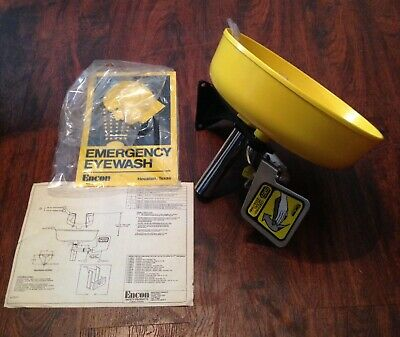 New Other in Damaged Box Encon Safety Products Emergency Eye Wash Station