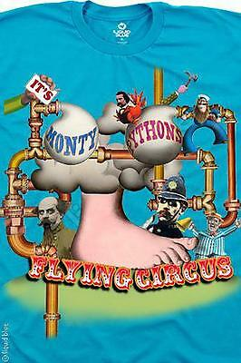 MONTY PYTHON-FLYING CIRCUS FOOT-T-SHIRT M-L-XL-XXL Cleese, Idle, Palin, Gilliam