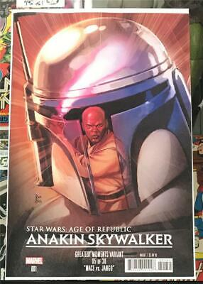 Star Wars Age of Republic Anakin Skywalker #1 Moments Variant -2019 UR 1st Print