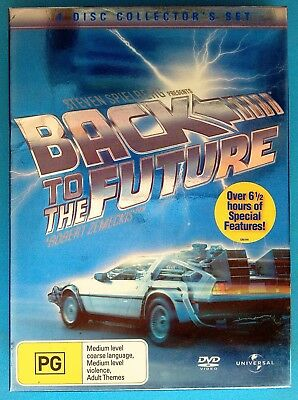 BACK TO THE FUTURE 1 2 3 4-Disc Bonus DVD Box Set) TRILOGY COLLECTOR'S Edition