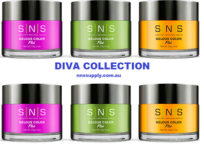 SNS Dipping Powder -  DIVA COLLECTION | Nail System | Choose Your Colours | 1Oz